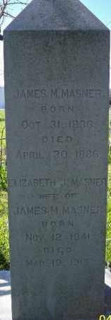 MASNER, ELIZABETH J. - Independence County, Arkansas | ELIZABETH J. MASNER - Arkansas Gravestone Photos