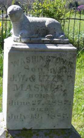 MASNER,, WASHINGTON R. - Independence County, Arkansas   WASHINGTON R. MASNER, - Arkansas Gravestone Photos