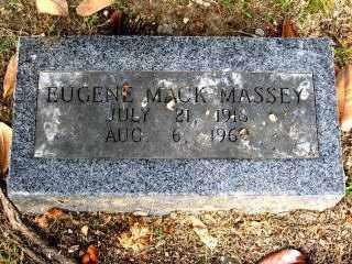 """MASSEY, EUGENE MACK """"GENE MACK"""" - Independence County, Arkansas   EUGENE MACK """"GENE MACK"""" MASSEY - Arkansas Gravestone Photos"""