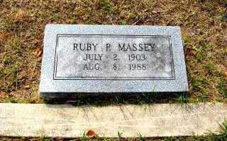 MASSEY, RUBY P. - Independence County, Arkansas | RUBY P. MASSEY - Arkansas Gravestone Photos