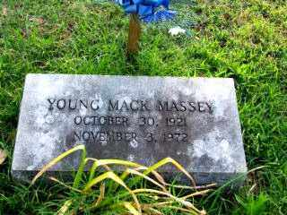"""MASSEY, YOUNG MACK """"MACK"""" - Independence County, Arkansas 