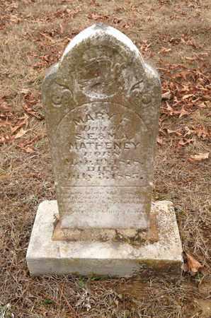 MATHENY, MARY F - Independence County, Arkansas | MARY F MATHENY - Arkansas Gravestone Photos