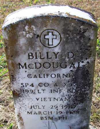 MCDOUGAL (VETERAN VIET, KIA), BILLY D - Independence County, Arkansas | BILLY D MCDOUGAL (VETERAN VIET, KIA) - Arkansas Gravestone Photos