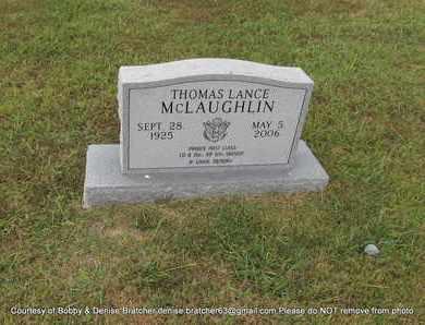 MCLAUGHLIN, THOMAS LANCE - Independence County, Arkansas   THOMAS LANCE MCLAUGHLIN - Arkansas Gravestone Photos