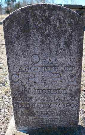 MITCHELL, OPAL - Independence County, Arkansas   OPAL MITCHELL - Arkansas Gravestone Photos