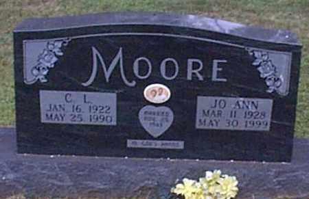 MOORE, JO ANN - Independence County, Arkansas | JO ANN MOORE - Arkansas Gravestone Photos