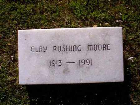 MOORE, CLAY RUSHING - Independence County, Arkansas | CLAY RUSHING MOORE - Arkansas Gravestone Photos