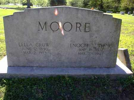 CROW MOORE, LELLA - Independence County, Arkansas | LELLA CROW MOORE - Arkansas Gravestone Photos