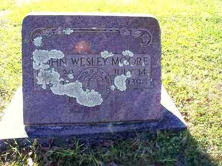 MOORE, JOHN WESLEY - Independence County, Arkansas | JOHN WESLEY MOORE - Arkansas Gravestone Photos
