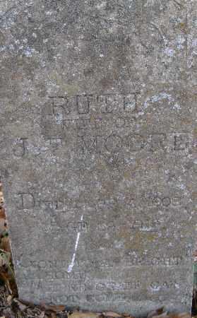 MOORE, RUTH - Independence County, Arkansas   RUTH MOORE - Arkansas Gravestone Photos