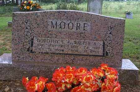 MOORE, DOROTHY L. - Independence County, Arkansas   DOROTHY L. MOORE - Arkansas Gravestone Photos