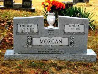 """BRIDGES MORGAN, RUTHA IZELLE """"IZELLE"""" - Independence County, Arkansas   RUTHA IZELLE """"IZELLE"""" BRIDGES MORGAN - Arkansas Gravestone Photos"""