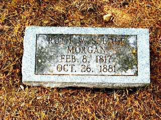 SLEDGE MORGAN, RUTH W. - Independence County, Arkansas | RUTH W. SLEDGE MORGAN - Arkansas Gravestone Photos