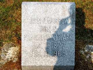 MORROW, JOHN PATTERSON SR. - Independence County, Arkansas | JOHN PATTERSON SR. MORROW - Arkansas Gravestone Photos
