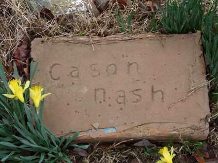 NASH, CASON - Independence County, Arkansas | CASON NASH - Arkansas Gravestone Photos