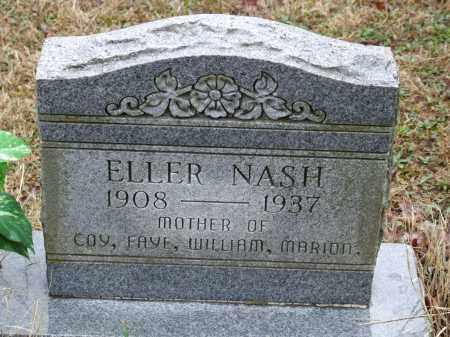 NASH, ELLER - Independence County, Arkansas | ELLER NASH - Arkansas Gravestone Photos