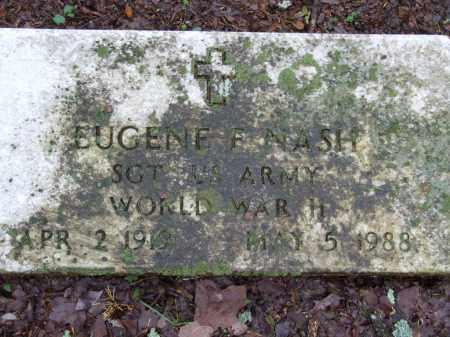 NASH (VETERAN WWII), EUGENE FRANKLIN - Independence County, Arkansas | EUGENE FRANKLIN NASH (VETERAN WWII) - Arkansas Gravestone Photos