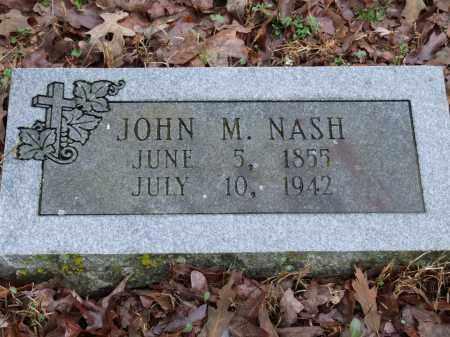 NASH, JOHN M. - Independence County, Arkansas | JOHN M. NASH - Arkansas Gravestone Photos