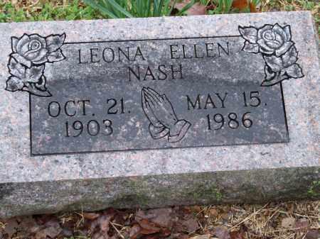 WEBB NASH, LEONA ELLEN - Independence County, Arkansas | LEONA ELLEN WEBB NASH - Arkansas Gravestone Photos