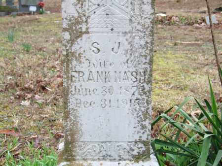 EREY NASH, SARAH JANE - Independence County, Arkansas   SARAH JANE EREY NASH - Arkansas Gravestone Photos