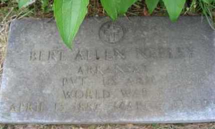 NEELEY  (VETERAN WWI), BERT ALLEN - Independence County, Arkansas | BERT ALLEN NEELEY  (VETERAN WWI) - Arkansas Gravestone Photos