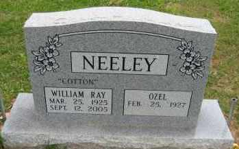 """NEELEY, WILLIAM RAY """"COTTON"""" - Independence County, Arkansas 