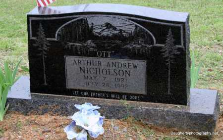 NICHOLSON, ARTHUR - Independence County, Arkansas | ARTHUR NICHOLSON - Arkansas Gravestone Photos