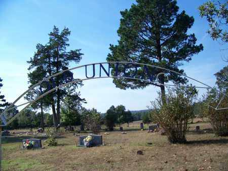 *OLD UNION CEMETERY GATE,  - Independence County, Arkansas |  *OLD UNION CEMETERY GATE - Arkansas Gravestone Photos