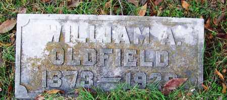 OLDFIELD, WILLIAM ALLAN - Independence County, Arkansas   WILLIAM ALLAN OLDFIELD - Arkansas Gravestone Photos