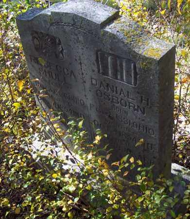 SHULL OSBURN, RBECCA - Independence County, Arkansas   RBECCA SHULL OSBURN - Arkansas Gravestone Photos