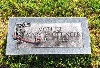 OTTINGER, MARY ELLEN - Independence County, Arkansas | MARY ELLEN OTTINGER - Arkansas Gravestone Photos
