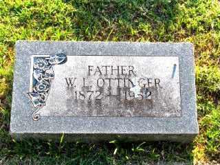 OTTINGER, WILLIAM LAFAYETTE - Independence County, Arkansas | WILLIAM LAFAYETTE OTTINGER - Arkansas Gravestone Photos