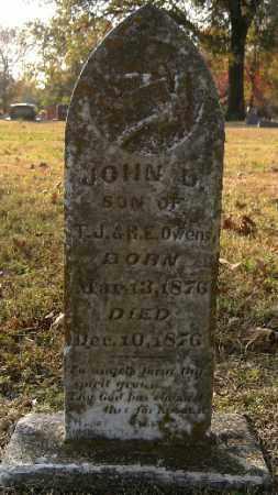 OWENS, JOHN D. - Independence County, Arkansas | JOHN D. OWENS - Arkansas Gravestone Photos