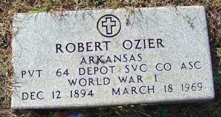 OZIER (VETERAN WWI), ROBERT - Independence County, Arkansas | ROBERT OZIER (VETERAN WWI) - Arkansas Gravestone Photos