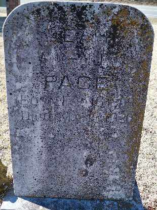 PACE,, LEAH - Independence County, Arkansas | LEAH PACE, - Arkansas Gravestone Photos