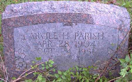 PARISH, ARVILLE H. - Independence County, Arkansas | ARVILLE H. PARISH - Arkansas Gravestone Photos
