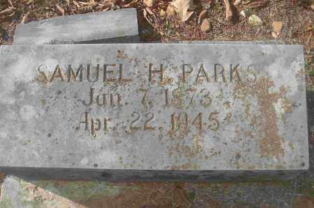 PARKS, SAMUEL H - Independence County, Arkansas   SAMUEL H PARKS - Arkansas Gravestone Photos