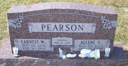 PEARSON, ALLENE V - Independence County, Arkansas | ALLENE V PEARSON - Arkansas Gravestone Photos