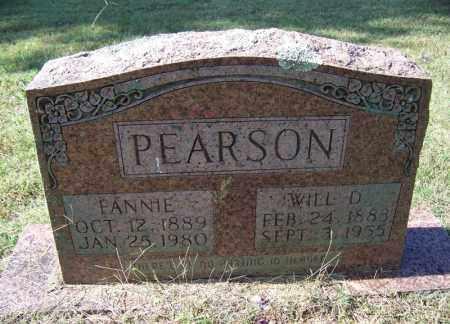 PEARSON, FANNIE - Independence County, Arkansas | FANNIE PEARSON - Arkansas Gravestone Photos