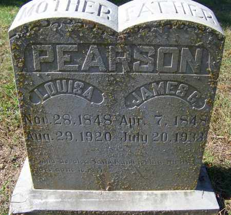PEARSON, JAMES G - Independence County, Arkansas | JAMES G PEARSON - Arkansas Gravestone Photos