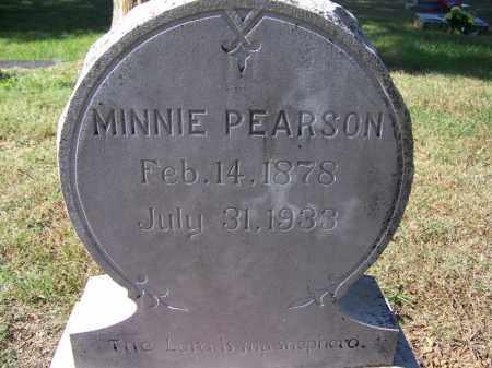 PEARSON, MINNIE - Independence County, Arkansas | MINNIE PEARSON - Arkansas Gravestone Photos