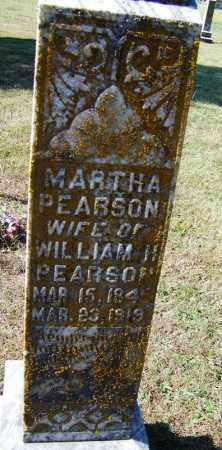 SNIDER PEARSON, MARTHA - Independence County, Arkansas | MARTHA SNIDER PEARSON - Arkansas Gravestone Photos