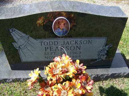 PEARSON, TODD JACKSON - Independence County, Arkansas | TODD JACKSON PEARSON - Arkansas Gravestone Photos