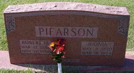 PIEARSON, ROBERT H - Independence County, Arkansas   ROBERT H PIEARSON - Arkansas Gravestone Photos