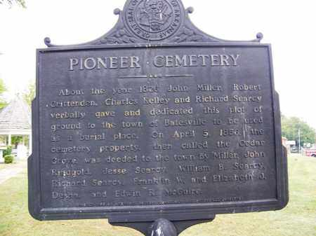*PIONEER (OLD BATESVILLE),  - Independence County, Arkansas |  *PIONEER (OLD BATESVILLE) - Arkansas Gravestone Photos
