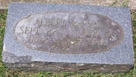 POOL, ALBER ALLEN SR. - Independence County, Arkansas | ALBER ALLEN SR. POOL - Arkansas Gravestone Photos