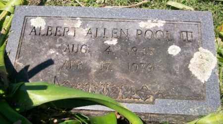 POOL, ALBERT ALLEN III - Independence County, Arkansas   ALBERT ALLEN III POOL - Arkansas Gravestone Photos