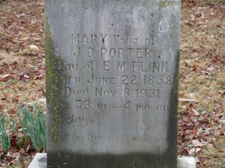 PORTER, MARY - Independence County, Arkansas | MARY PORTER - Arkansas Gravestone Photos