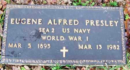 PRESLEY (VETERAN WWI), EUGENE ALFRED - Independence County, Arkansas | EUGENE ALFRED PRESLEY (VETERAN WWI) - Arkansas Gravestone Photos