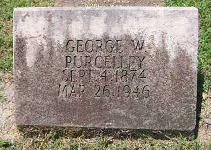 PURCELLEY, GEORGE W. - Independence County, Arkansas | GEORGE W. PURCELLEY - Arkansas Gravestone Photos